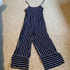 Forever 21 Nautical Romper Jumpsuit - Small